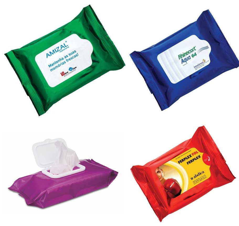 влажные салфетки в упаковке флоупак